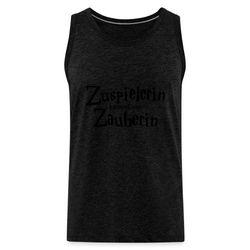 VolleyballFREAK Zuspielerin Zauberin - Männer Premium Tank Top