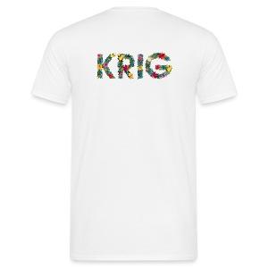 Blomstrende krig - T-skjorte for menn