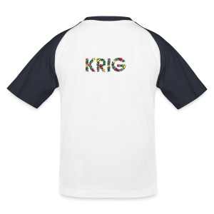 Blomstrende krig - Baseball-T-skjorte for barn