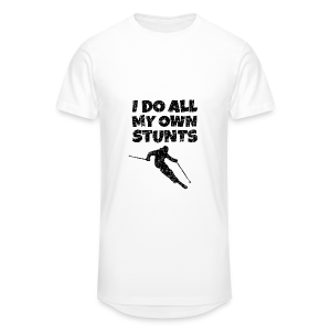 I do my own Stunts Kinder T-Shirt - Männer Urban Longshirt
