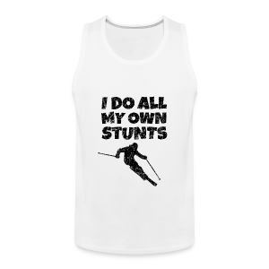 I do my own Stunts Kinder T-Shirt - Männer Premium Tank Top