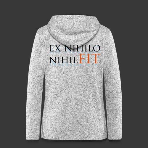 EX NIHILO NIHIL FIT - Women's Hooded Fleece Jacket