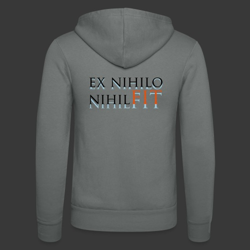 EX NIHILO NIHIL FIT - Unisex Hooded Jacket by Bella + Canvas