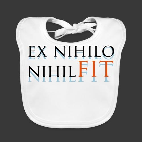 EX NIHILO NIHIL FIT - Baby Organic Bib