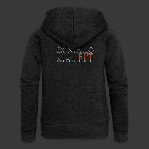 EX NIHILO NIHIL FIT - Women's Premium Hooded Jacket