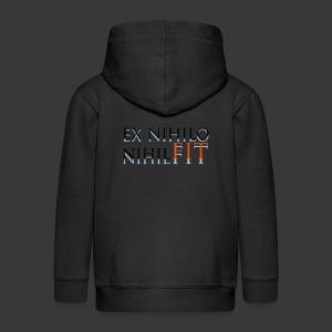 EX NIHILO NIHIL FIT - Kids' Premium Zip Hoodie