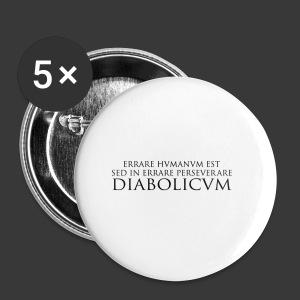 ERRARE HUMANUM EST - Buttons large 56 mm