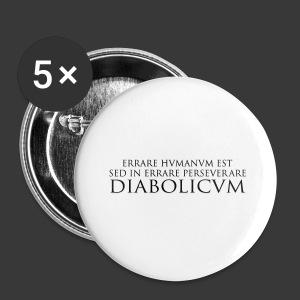 ERRARE HUMANUM EST - Buttons small 25 mm