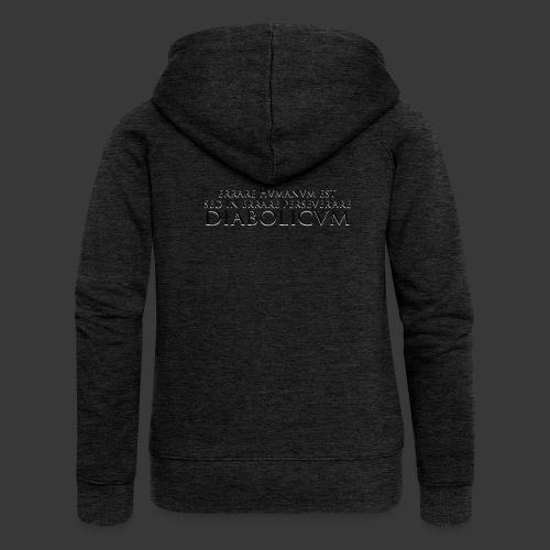 ERRARE HUMANUM EST - Women's Premium Hooded Jacket