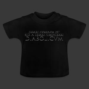 ERRARE HUMANUM EST - Baby T-Shirt