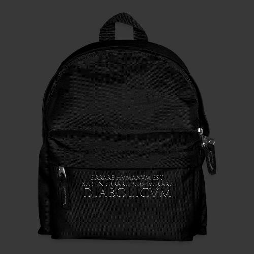 ERRARE HUMANUM EST - Kids' Backpack