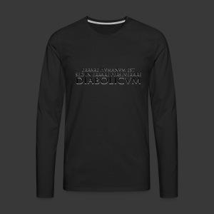 ERRARE HUMANUM EST - Men's Premium Longsleeve Shirt