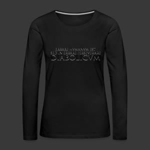 ERRARE HUMANUM EST - Women's Premium Longsleeve Shirt