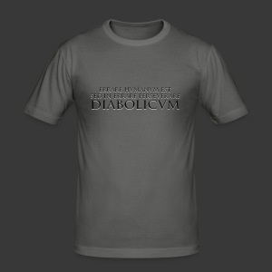 ERRARE HUMANUM EST - Men's Slim Fit T-Shirt