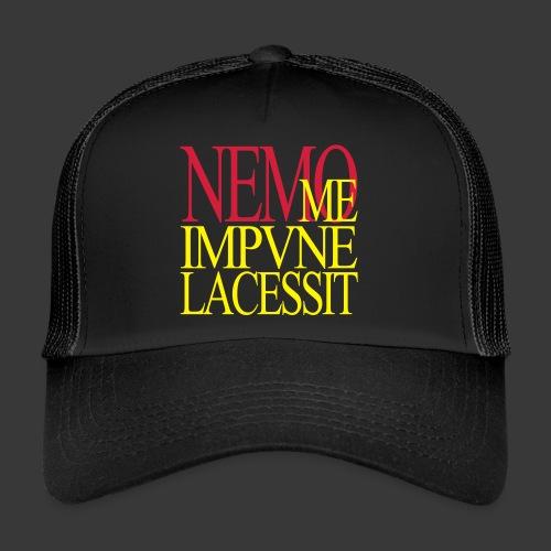 NEMO ME IMPUNE LACESSIT - Trucker Cap