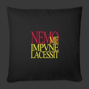 NEMO ME IMPUNE LACESSIT - Sofa pillow cover 44 x 44 cm