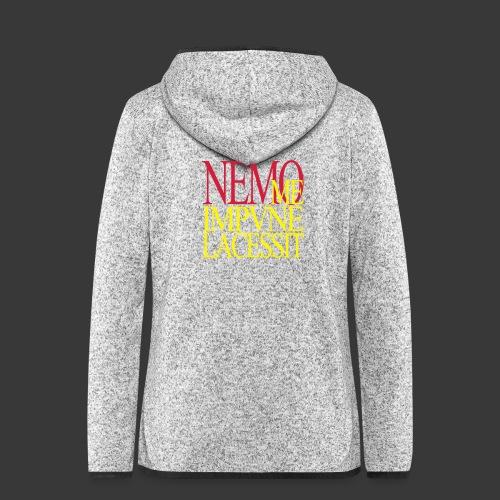 NEMO ME IMPUNE LACESSIT - Women's Hooded Fleece Jacket