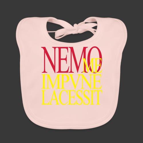 NEMO ME IMPUNE LACESSIT - Baby Organic Bib