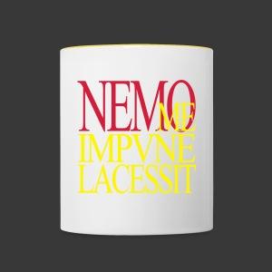 NEMO ME IMPUNE LACESSIT - Contrasting Mug