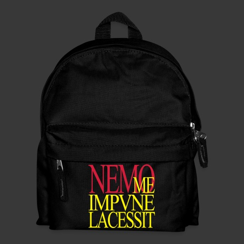 NEMO ME IMPUNE LACESSIT - Kids' Backpack