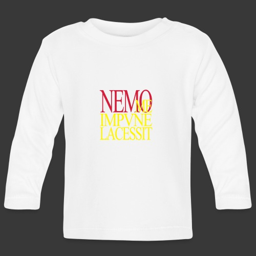 NEMO ME IMPUNE LACESSIT - Baby Long Sleeve T-Shirt