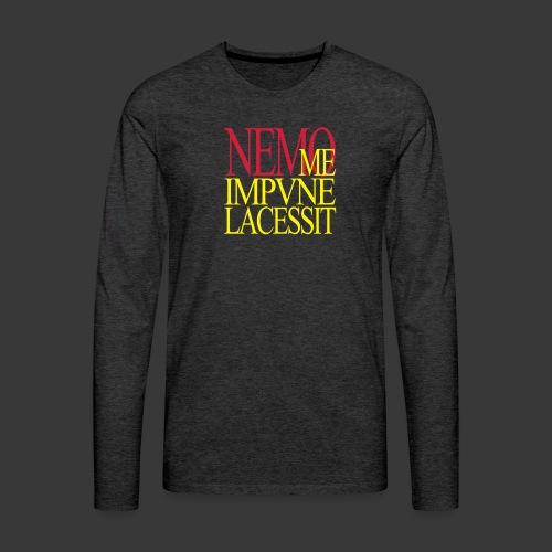 NEMO ME IMPUNE LACESSIT - Men's Premium Longsleeve Shirt