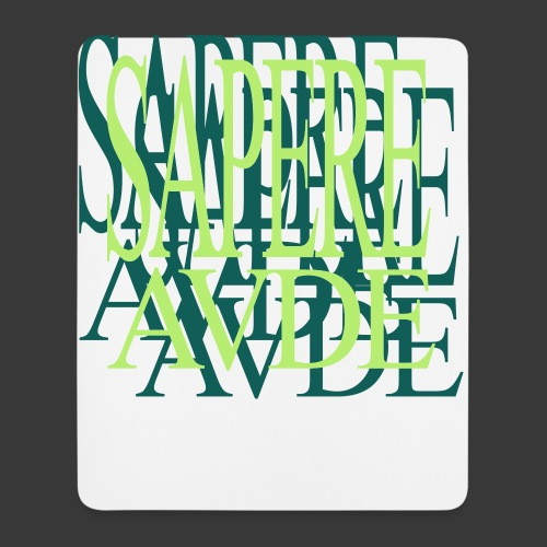 SAPERE AUDE - Mouse Pad (vertical)
