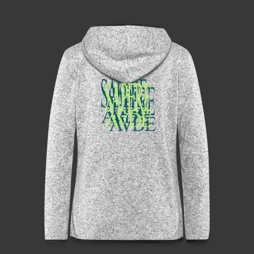 SAPERE AUDE - Women's Hooded Fleece Jacket