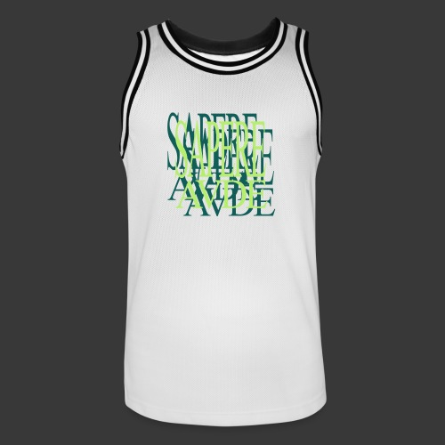 SAPERE AUDE - Men's Basketball Jersey