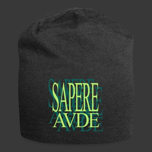 SAPERE AUDE - Jersey Beanie