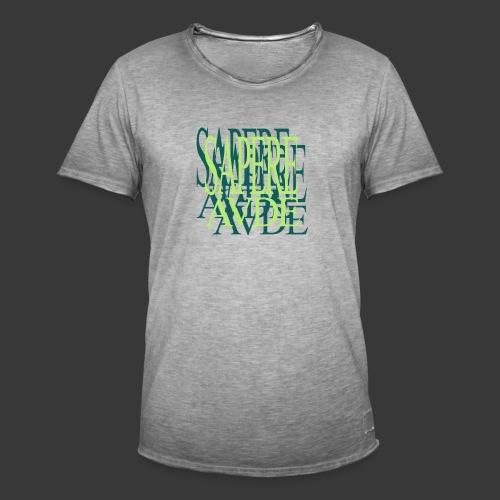 SAPERE AUDE - Men's Vintage T-Shirt