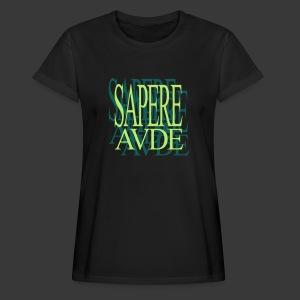 SAPERE AUDE - Women's Oversize T-Shirt