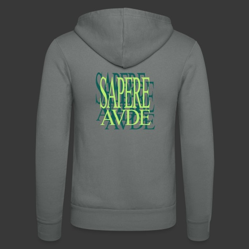 SAPERE AUDE - Unisex Hooded Jacket by Bella + Canvas