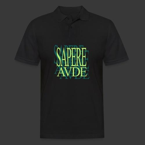 SAPERE AUDE - Men's Polo Shirt