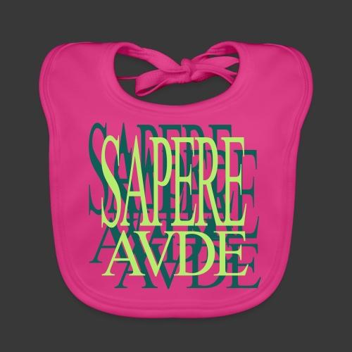 SAPERE AUDE - Baby Organic Bib