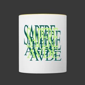 SAPERE AUDE - Contrasting Mug