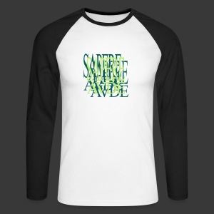 SAPERE AUDE - Men's Long Sleeve Baseball T-Shirt