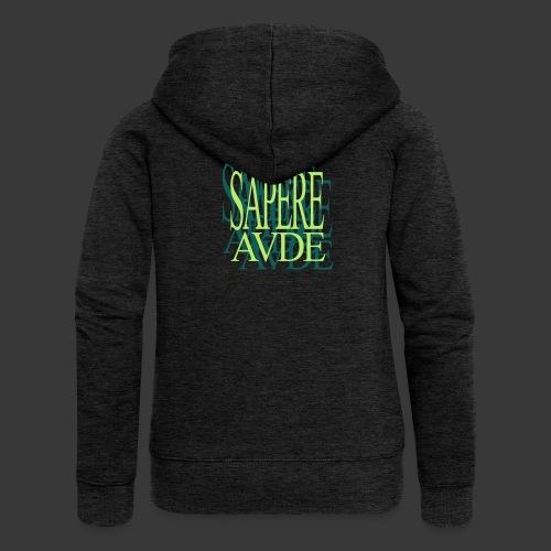 SAPERE AUDE - Women's Premium Hooded Jacket