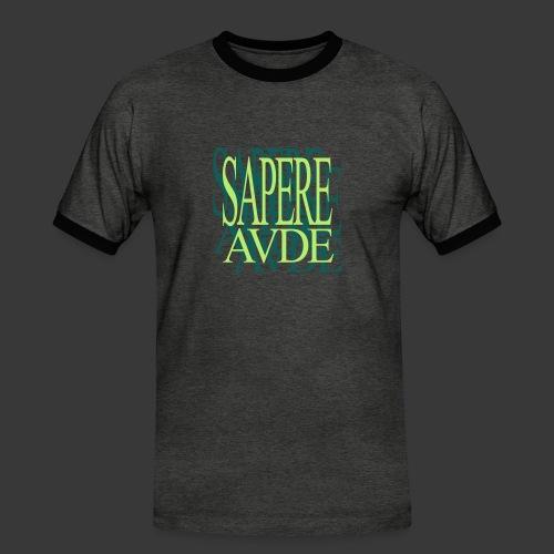 SAPERE AUDE - Men's Ringer Shirt