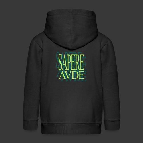 SAPERE AUDE - Kids' Premium Zip Hoodie