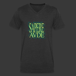 SAPERE AUDE - Men's Organic V-Neck T-Shirt by Stanley & Stella