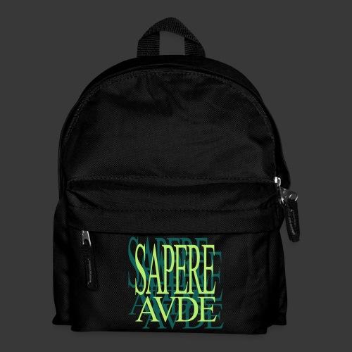 SAPERE AUDE - Kids' Backpack