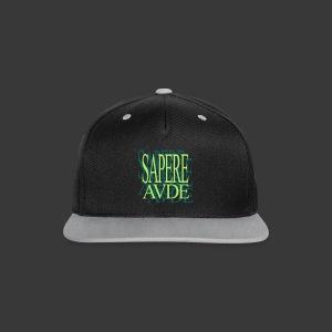 SAPERE AUDE - Contrast Snapback Cap