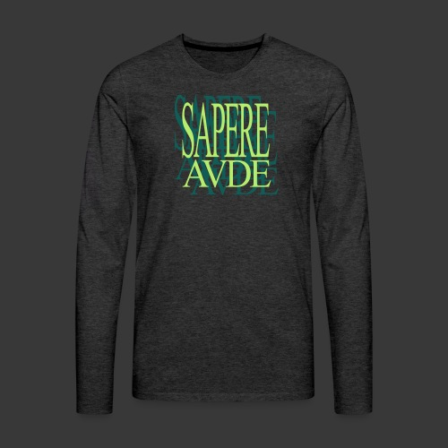 SAPERE AUDE - Men's Premium Longsleeve Shirt