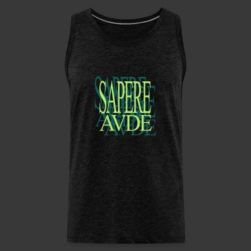 SAPERE AUDE - Men's Premium Tank Top