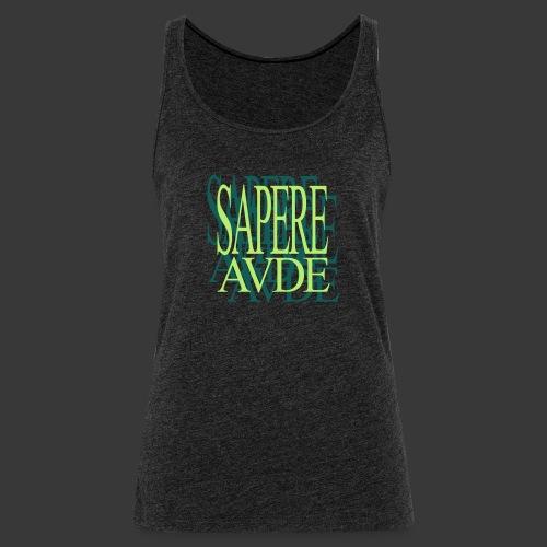 SAPERE AUDE - Women's Premium Tank Top