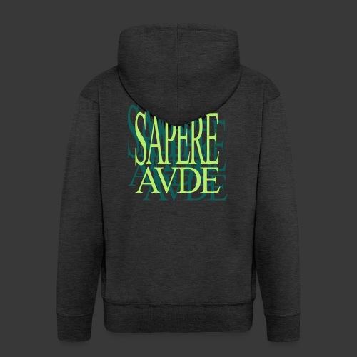 SAPERE AUDE - Men's Premium Hooded Jacket