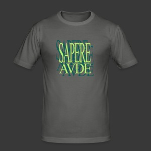 SAPERE AUDE - Men's Slim Fit T-Shirt