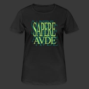 SAPERE AUDE - Women's Breathable T-Shirt