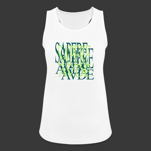SAPERE AUDE - Women's Breathable Tank Top
